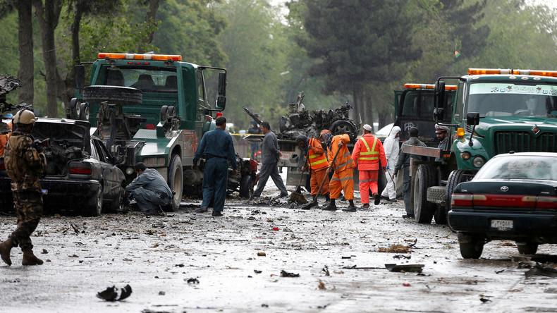 Au moins huit morts dans un attentat visant des véhicules de l'OTAN à Kaboul