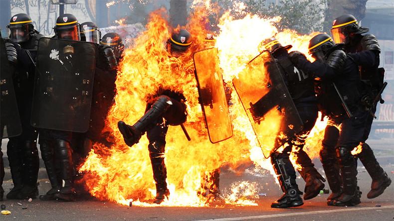 Policier brûlé le 1er mai : Maurice Lévy s'excuse pour le tweet ironique de la CGT-Publicis