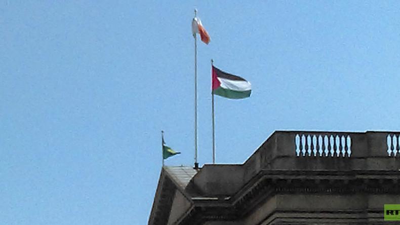 Irlande : la mairie de Dublin hisse le drapeau palestinien en «signe de solidarité»