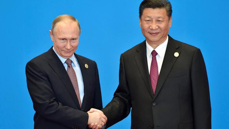Vladimir Poutine s'aligne avec Xi Jinping pour élaborer un nouvel ordre mondial (commercial)
