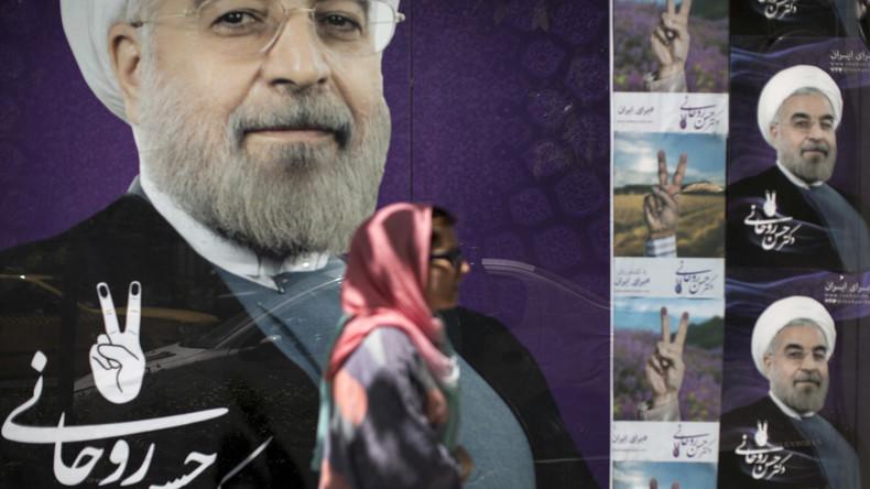 Election présidentielle en Iran : Hassan Rohani est réélu avec 57% des voix