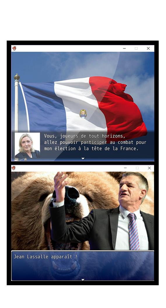 Marine Le Pen part à l'assaut du «front républicain» dans un jeu vidéo