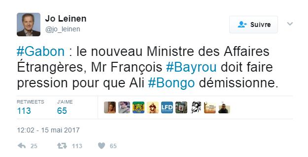 Un eurodéputé allemand s'adresse à François Bayrou, «nouveau ministre des Affaires étrangères»