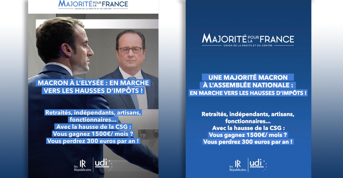 L'UDI aurait obtenu de ses alliés de LR la censure d'un tract jugé trop hostile à Macron