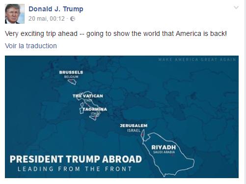 Pour Donald Trump, la Corse est italienne