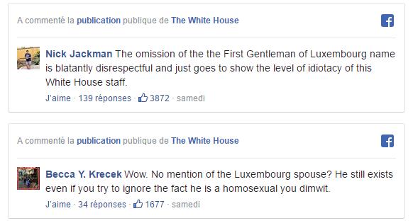 Quand la Maison Blanche zappe le nom du «premier gentleman» du G7