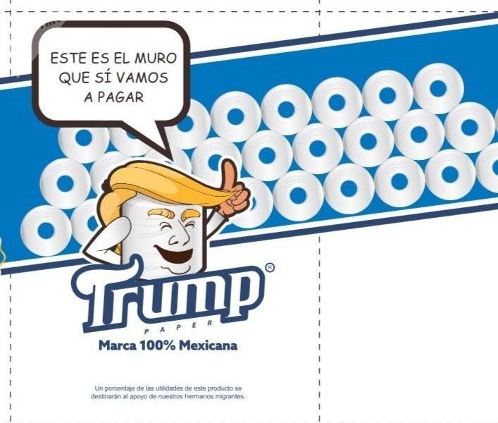 «Une douceur sans frontières» : du papier toilette Trump en aide aux migrants mexicains