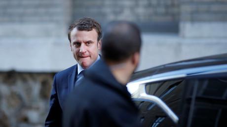 Emmanuel Macron accuse l'extrême-droite d'être à l'origine de la polémique autour de Mohamed Saou