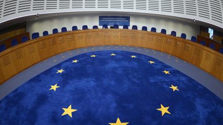 La salle d'audience de la Cour européenne des droits de l'homme à Strasbourg