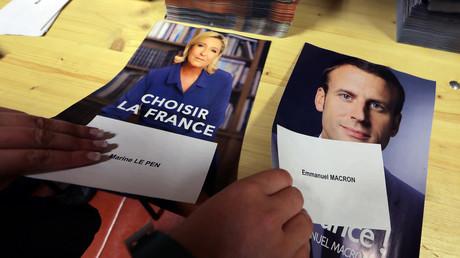 Préparatifs avant le deuxième tour de la présidentielle française
