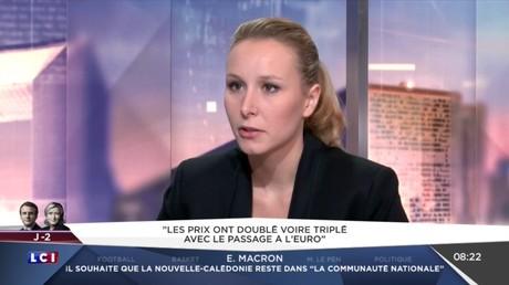 Vidéo de soutien d'Obama à Emmanuel Macron : Marion Maréchal-Le Pen dénonce une «ingérence»
