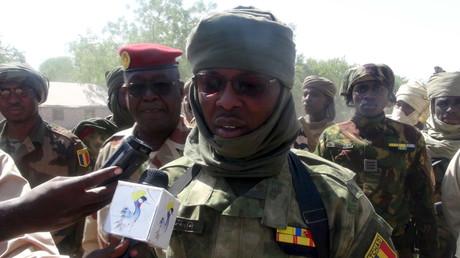 L'armée tchadienne a causé de lourdes pertes à Boko Haram lors d'une contre-attaque. Ici le général Saleh Toma Houno, en 2015