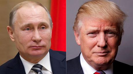 Vladimir Poutine, Donald Trump