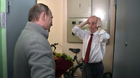Vladimir Poutine et Lazar Matveev