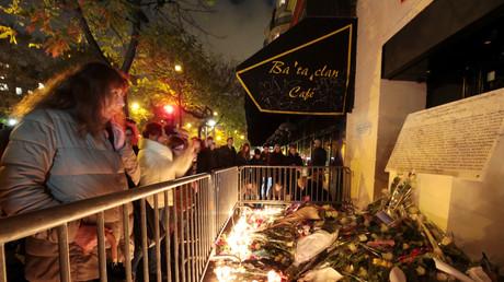 Commémoration en novembre 2016 des attentats de Paris