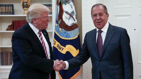 Sergueï Lavrov et Donald Trump