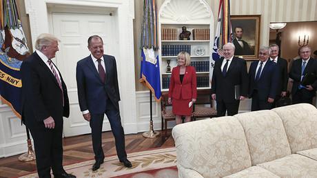 Rencontre entre Donald Trump et Sergueï Lavrov