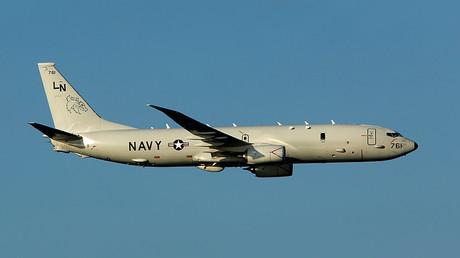 Un avion espion américain intercepté par un chasseur russe au-dessus de la mer Noire