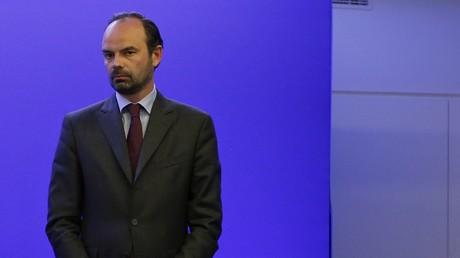 Edouard Philippe au siège des Républicains en 2015