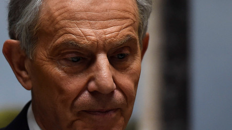 L'ancien Premier ministre britannique Tony Blair