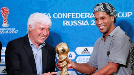 Ronaldinho : «Je n'ai jamais rêvé de jouer au football pour l'argent»