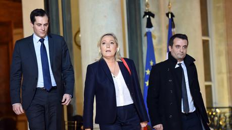 Nicolas Bay, Marine Le Pen et Florian Philippot