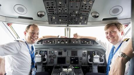 La double vie du roi des Pays-Bas, monarque... et pilote d'avion incognito