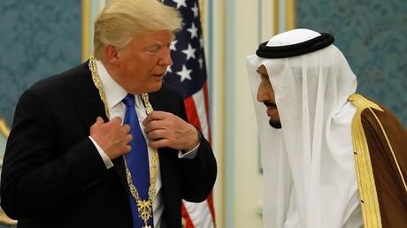 Le président américain Donald Trump a rencontré le roi d'Arabie saoudite à Riyad