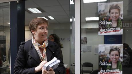 Caroline de Haas est candidate à la députation dans la 18e circonscription de Paris