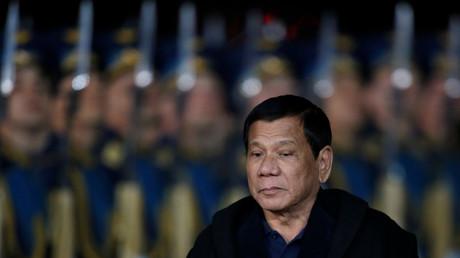 Rodrigo Duterte a écourté son séjour en Russie