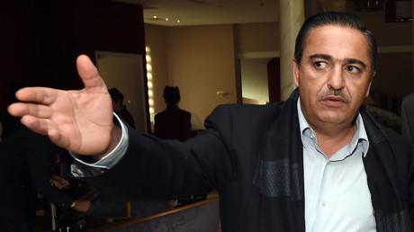 Chafik Jarraya accueille des représentants des gouvernements rivaux de Tripoli et de Tobrouk à Gammarth, le 6 décembre 2016