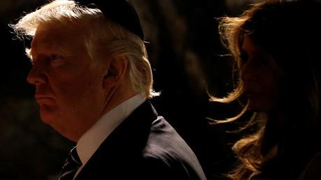Donald Trump lors de sa visite en Israël.
