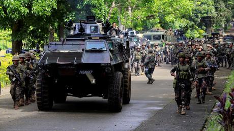 Des militaires philippins à Marawi