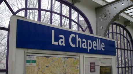 Le métro de La Chapelle à Paris