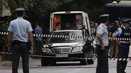 L'ex-Premier ministre grec Papademos blessé par un colis piégé dans sa voiture