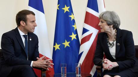Macron promet à May de faire tout ce qui est possible contre le terrorisme