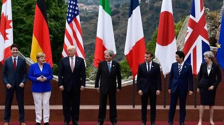 Les dirigeants du G7 réunis en Sicile
