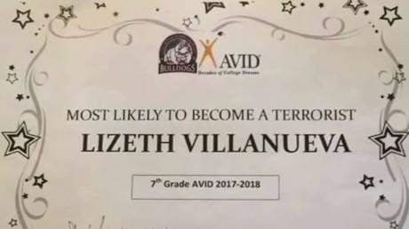 «Le plus de chances de devenir terroriste» : un faux diplôme de mauvais goût suscite l'indignation