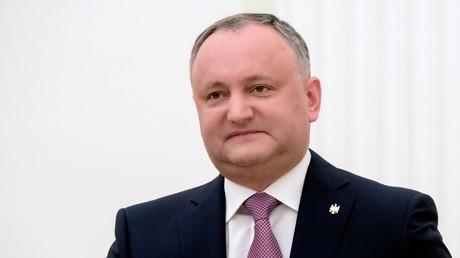 le président moldave, Igor Dodon