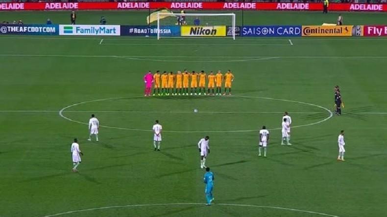 L'équipe d'Arabie saoudite snobe la minute de silence pour les victimes de Londres (VIDEO)