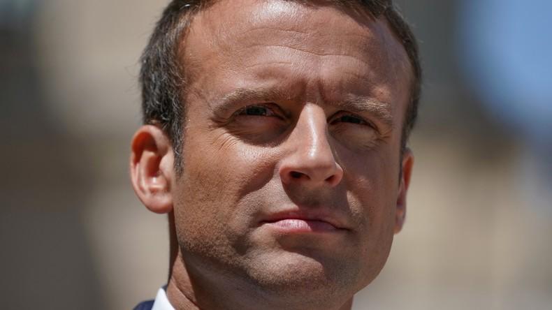 Pour Emmanuel Macron, il n'y a pas de successeur légitime à Bachar el-Assad