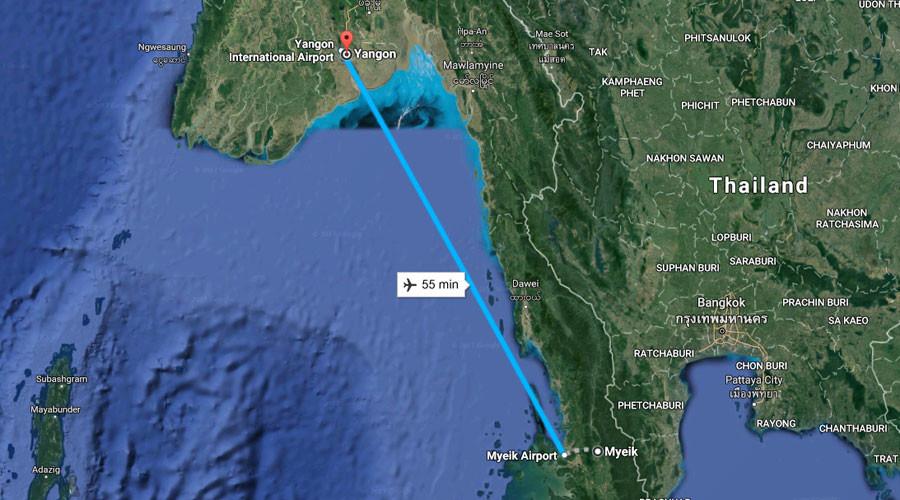 Birmanie : disparition d'un avion militaire avec plus de 100 personnes à bord, des débris retrouvés