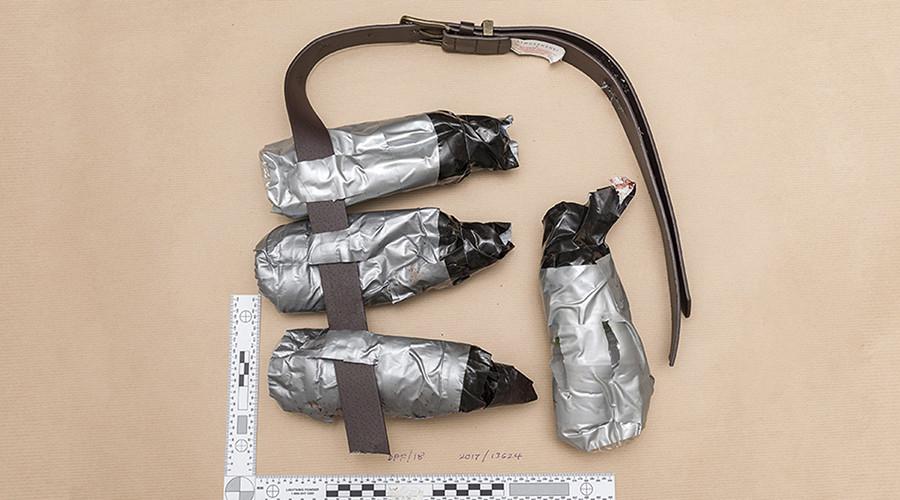 Attentat de Londres : la police publie les images des fausses ceintures explosives des terroristes