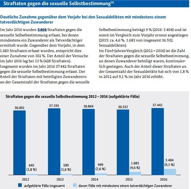 Allemagne : les agressions sexuelles impliquant des migrants ont doublé en 2016