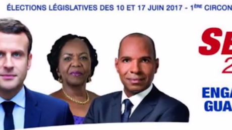 L'affiche d'Olivier Serva pour les législatives