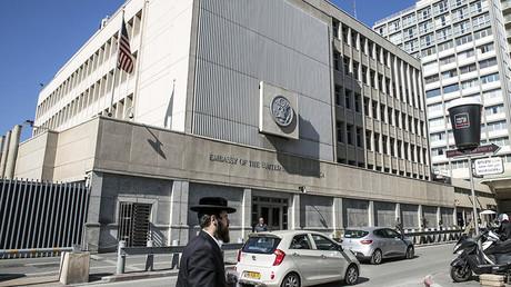 L'ambassade américaine à Tel Aviv