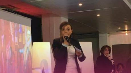 Houmria Berrada, candidate de La République en marche dans le 2e circonscription du Nord