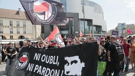 Manifestation en hommage à Clément Méric en 2014 à Paris