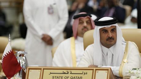 L'émir du Qatar, Tamim bin Hamad al-Thani