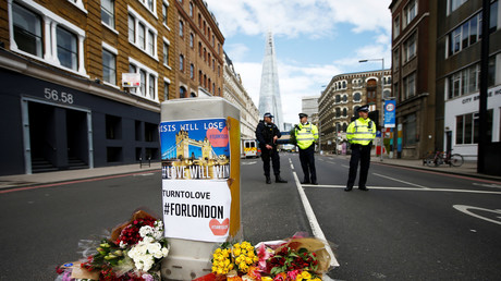 Londres après l'attentat terroriste